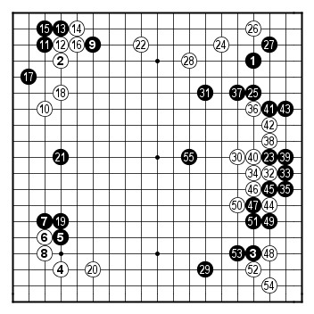 Female Meijin 2008, game 2