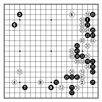 kisei 2008, game 5, day 1