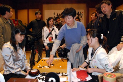 Lee Minjin vs. Tang Yi