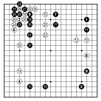 Female Kisei 2008, game 2